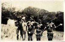 afr001291 - African Nude Nudes Non- Postcard Post Card