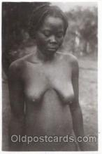 afr001306 - African Nude, Nudes, Postcard Post Card
