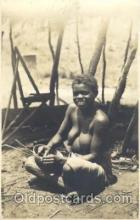 afr001311 - African Nude, Nudes, Postcard Post Card