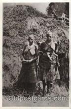 afr001312 - Le Kivu, Congo, Belge African Nude, Nudes, Postcard Post Card