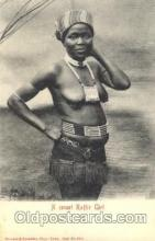 afr001322 - Kaffir girl African Nude, Nudes, Postcard Post Card