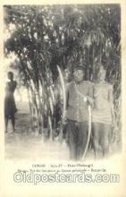 afr001325 - Congo, Serie IV African Nude, Nudes, Postcard Post Card