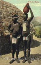afr001328 - Market African Nude, Nudes, Postcard Post Card