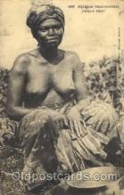 afr001330 - Afrique Occidentale, Fanti African Nude, Nudes, Postcard Post Card
