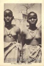 afr001336 - Albaret, Dakar African Nude, Nudes, Postcard Post Card