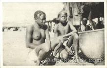 afr001338 - Afrique Occidentale, Malinke African Nude, Nudes, Postcard Post Card