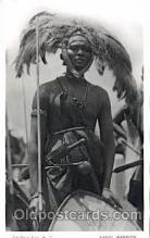 afr001349 - African Nude Post Card Post Card