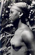afr001354 - African Nude Post Card Post Card