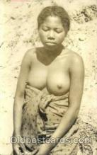 afr001358 - African Nude Post Card Post Card