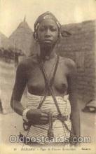 afr001363 - Bamako African Nude Post Card Post Card