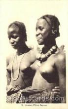 afr001370 - Albaret, Dakar African Nude Post Card Post Card