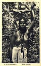 afr001374 - Donna Amarica African Nude Post Card Post Card