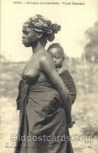 afr001376 - Type Saussai African Nude Post Card Post Card