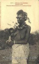 afr001386 - Femme Malinke African Nude Post Card Post Card