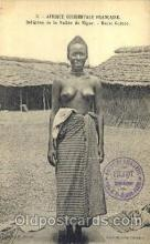 afr001397 - Haute Guinee African Nude Post Card Post Card