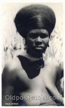 afr001403 - Zulu Woman African Nude Post Card Post Card