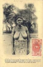 afr001415 - Cote D'ivoire African Nude Post Card Post Card
