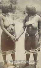 afr001417 - African Nude Post Card Post Card