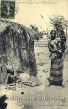 afr001418 - Dakar Senegal African Nude Post Card Post Card