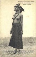 afr001420 - Jeune Foulah African Nude Post Card Post Card