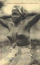 afr001421 - Fille Soussou African Nude Post Card Post Card