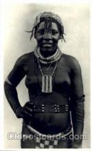 afr001422 - A Zulu Maid African Nude Post Card Post Card