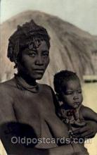 afr001423 - Congo Belge African Nude Post Card Post Card