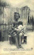 afr001424 - Dakar Senegal African Nude Post Card Post Card