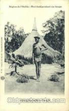 afr001426 - Region de L'Uellee African Nude Post Card Post Card