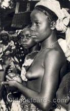 afr001427 - Conakry African Nude Post Card Post Card