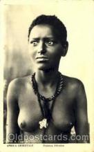 afr001436 - Ragazza Abissina African Nude Post Card Post Card