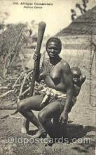 afr001438 - Femme Cerere African Nude Post Card Post Card