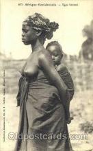 afr001439 - Type Saussai African Nude Post Card Post Card