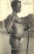 afr001440 - Jeune Ebrie African Nude Post Card Post Card