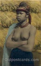 afr001441 - Jeune Foulah African Nude Post Card Post Card