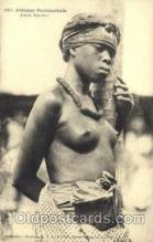 afr001445 - Jeune Soussou African Nude Post Card Post Card
