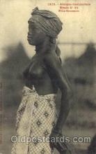 afr001446 - Fille Soussou African Nude Post Card Post Card
