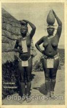 afr001450 - Feminine Adorement African Nude Post Card Post Card