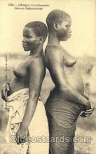 afr001451 - Femmes Dahomeennes African Nude Post Card Post Card