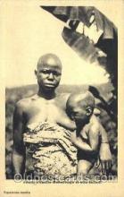 afr001455 - Jeune Femme Asserongo African Nude Post Card Post Card