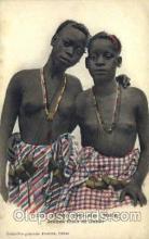 afr001457 - Jeunes filles de Dakar African Nude Post Card Post Card
