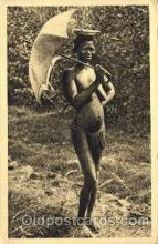 afr001464 - Afrique Equatoriale Francaise African Nude Post Card Post Card