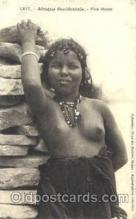 afr001474 - Fille Maure African Nude Post Card Post Card