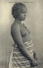 afr001475 - Jeune Fille Betsilco African Nude Post Card Post Card