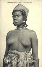 afr001477 - Femme Zafimanry African Nude Post Card Post Card