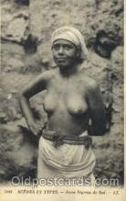 afr001480 - Scenes Et Types African Nude Post Card Post Card