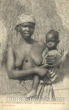 afr001481 - Dakar African Nude Post Card Post Card