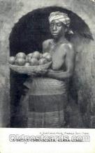 afr001484 - Native Fruit Seller, Sierra Leone African Nude Post Card Post Card