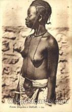 afr001485 - Femme Senegalaise a' Dakar African Nude Post Card Post Card