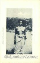 afr001487 - Madagascar - Une Femme Antanosy African Nude Post Card Post Card